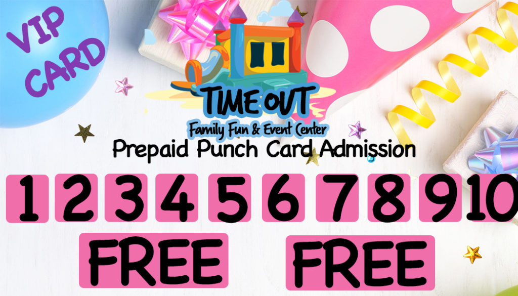 VIP Pre Paid Punch Card